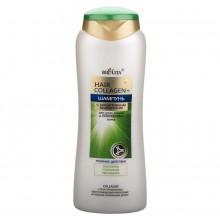 HAIR COLLАGEN+ Шампунь с биоактивным коллагеном  для сухих, тонких и поврежденных волос 400 мл