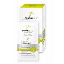 PHARMACos Биомаска для лица Очищающая 10 саше по 10 мл