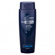 FOR MEN BIELITA Гель-душ для мытья волос и тела 400 мл