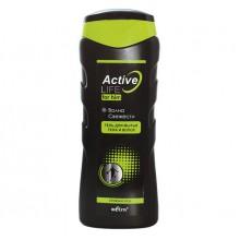 ACTIVE LIFE Гель для мытья тела и волос для него Волна свежести 250 мл