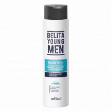 BELITA YOUNG MEN Шампунь для волос и бороды Чистота и Cвежесть горных ледников 400 мл