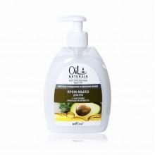 OIL Крем-мыло для рук с маслами Авакадо и Кунжута Мягкое Очищение и Питание 400 мл