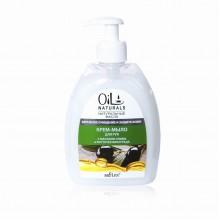 OIL Крем-мыло для рук с маслами Оливы и Косточек Винограда Бережное Очищение и Защита 400 мл