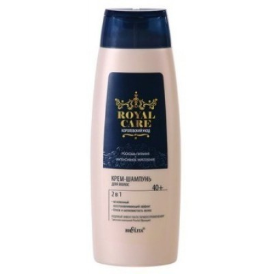 ROYAL CARE Крем-шампунь для волос 2 в 1 400 мл