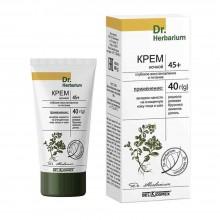 DR. HERBARIUM Крем ночной 45+ глубокое восстановление и питание 40 г