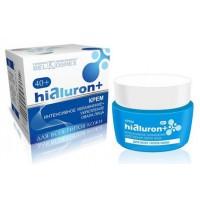 HIALURON+ Крем 40+ Интенсивное увлажнение+укрепление овала лица для всех типов кожи 48г