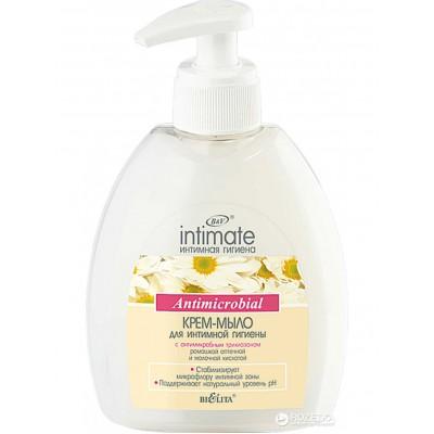 INTIMATE Крем-мыло для интимной гигиены с антимикробным триклозаном 300 мл