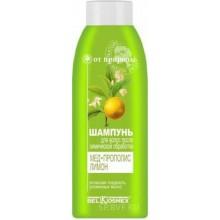 ОТ ПРИРОДЫ Шампунь для волос после химической обработки мед, прополис, лимон 500 г